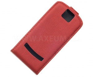 Чехол Activ Rippling Nokia 600 (red) (A134-02)