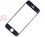 Стекло iPhone 5/5C/5S Черное - Оригинал